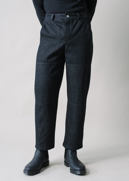 REIFhaus Lazlo Trouser in Black Denim