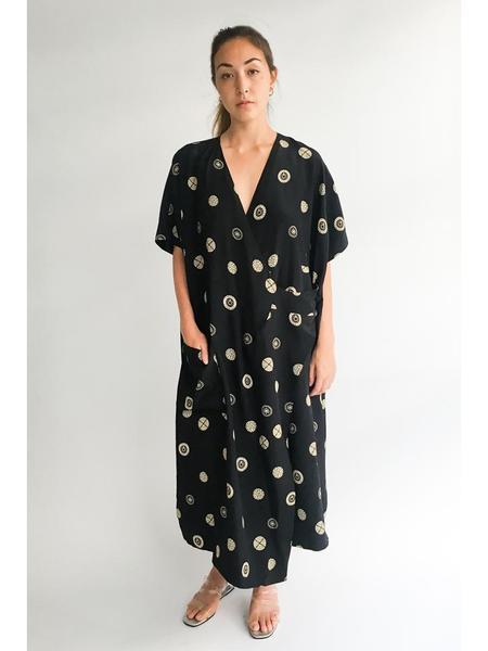 Suzanne Rae Kimono Dress, Feminist Print