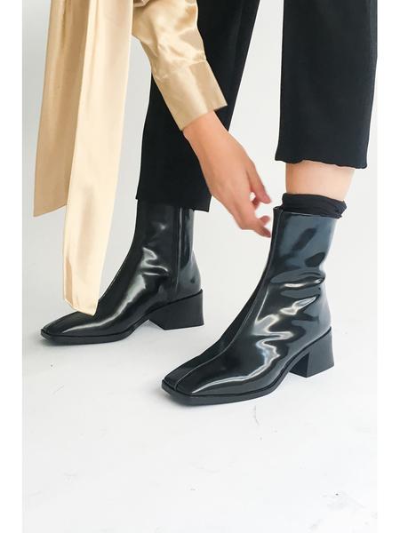 Suzanne Rae Boot - Spazzolato Black
