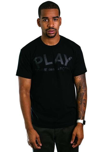 Comme des Garçons-PLAY Play Black T-Shirt Play Logo