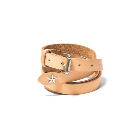 MAPLE Long Star Belt - Natural