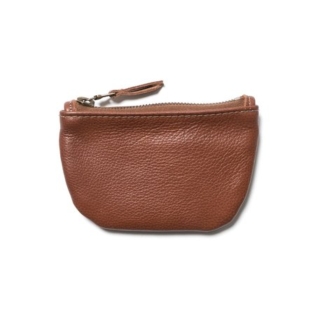 MAPLE Zip Pouch - Brown