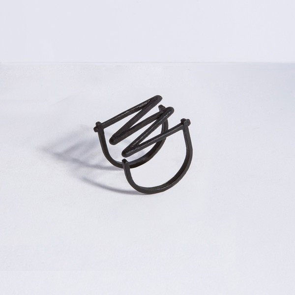 Metalepsis Projects Frequency Ring | matte black
