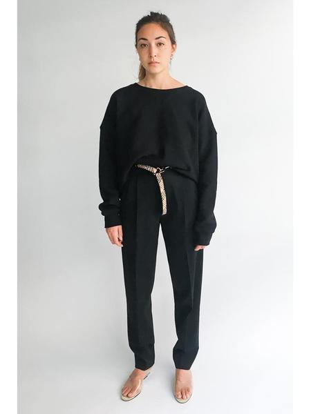 Simon Miller Brush Sweatshirt, Black