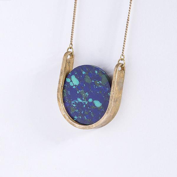 Metalepsis Projects Neutron Necklace | unfinished bronze