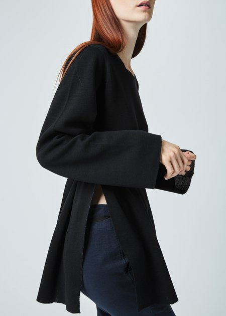 Hannes Roether Belted Knit Tunic