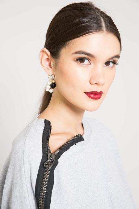 Rachel Comey Black Mira Earrings