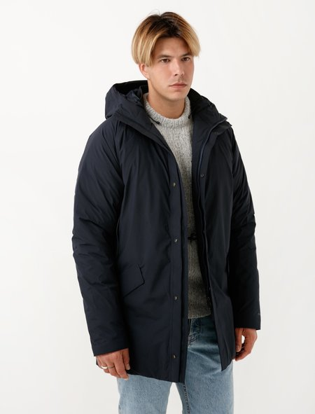 Norse Projects Mens Rokkvi Goretex Navy