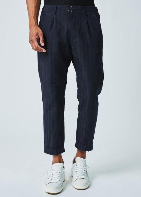 Sage de Cret Cropped Cuff Stripe Pant