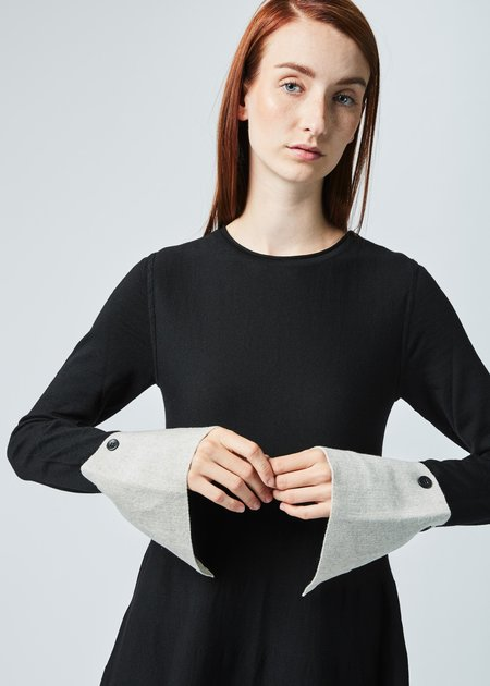 Hannes Roether Sprout Cuff Sleeve Dress