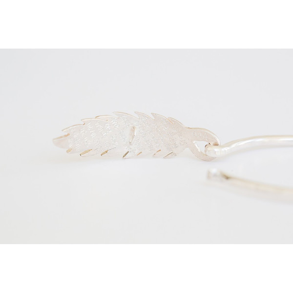 Ash Hoffman Jewelry Hope Feather Bangle