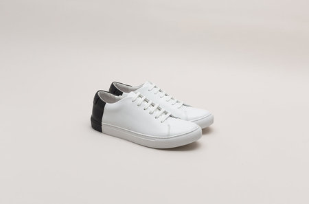 THEY New York Two-Tone Low - White/Black