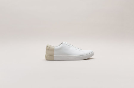 THEY New York Two-Tone Low in White/Beige