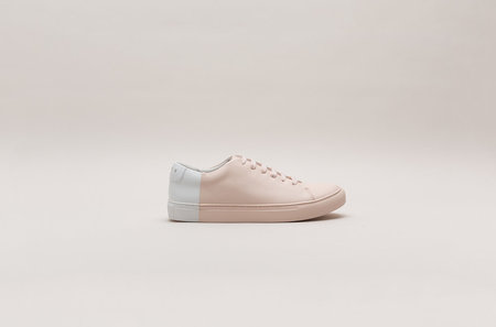 THEY New York Two-Tone Low in Blush/White