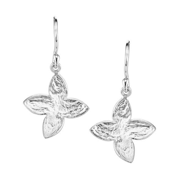 SíSí Design Silver Jasmine Earrings