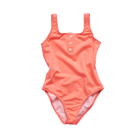Kids Pacific Rainbow Laura Girl's Swimsuit - Rose Fluo