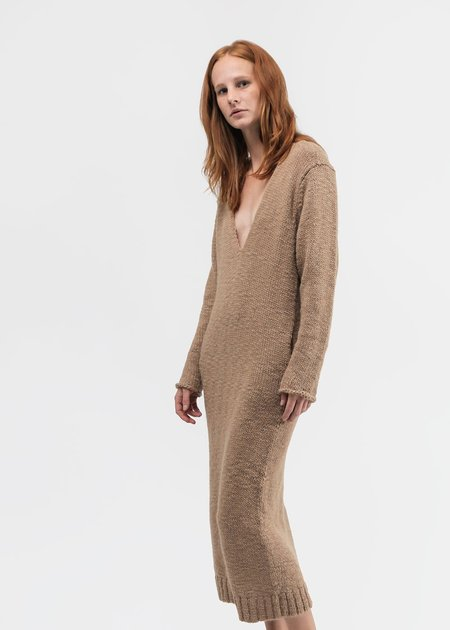Lauren Manoogian Low V Dress