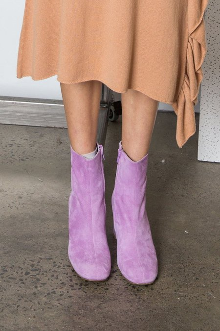 Maryam Nassir Zadeh AGNES ANKLE BOOT - IRIS SUEDE