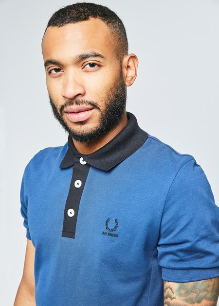 Fred Perry Contrast Neck Pique Polo