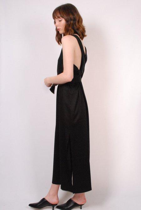 Shaina Mote Tie Dress - Onyx