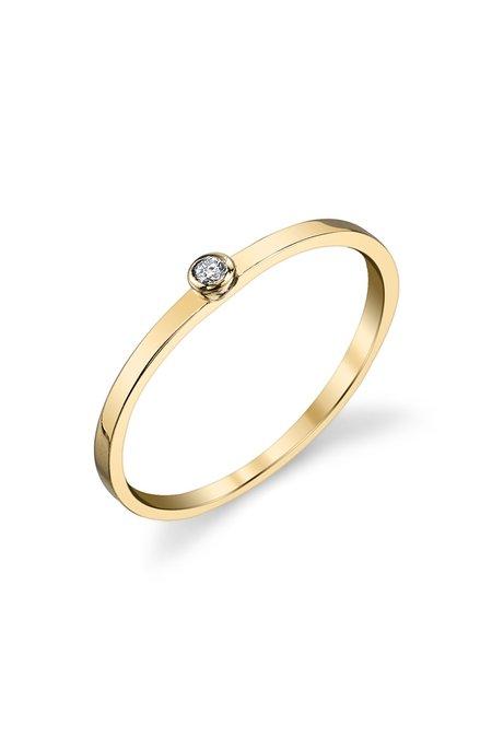 Gabriela Artigas Single White Diamond Ring