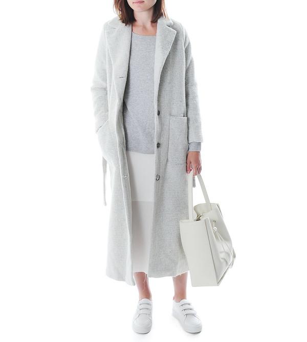 Won Hundred Grey Violet Laura Coat