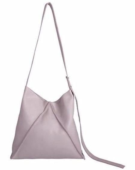 Oliveve Jasper Shoulder Bag In Rosy Pebbled Leather