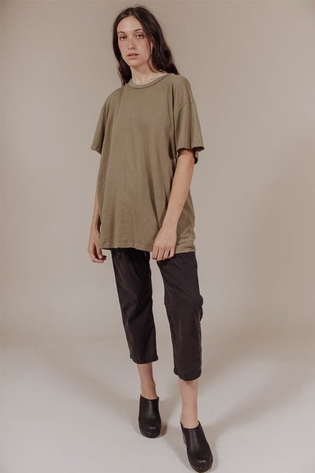 Lacausa Vintage Tall T in Basil