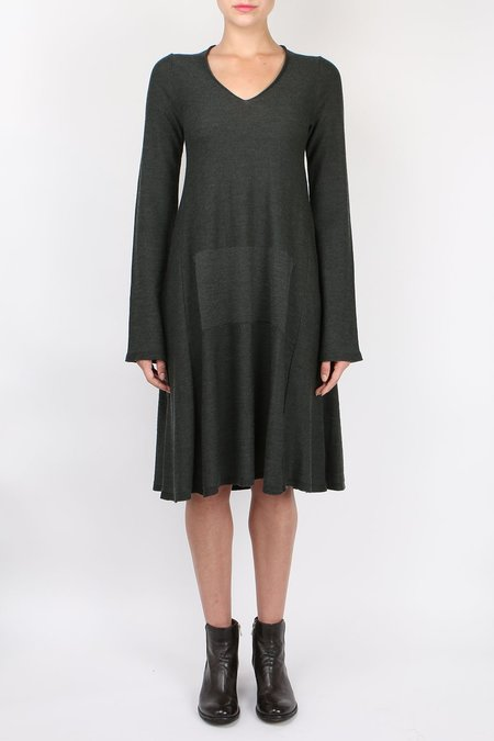 Hannes Roether V Neck Pocket Dress