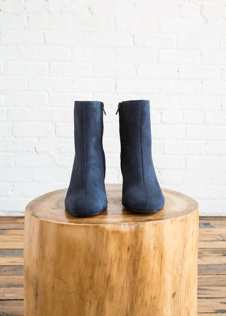 Maryam Nassir Zadeh Agnes Boot Navy Suede