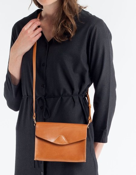 VereVerto Mini Mox Clutch, Crossbody & Hip Pack- Honey
