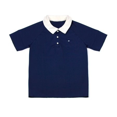 M Press Press Polo Navy