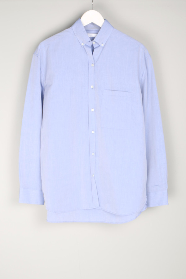 Atea Oceanie Boyfriend Shirt Oxford Blue