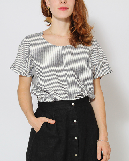 Sugar Candy Mountain Allegra Top in Stripe