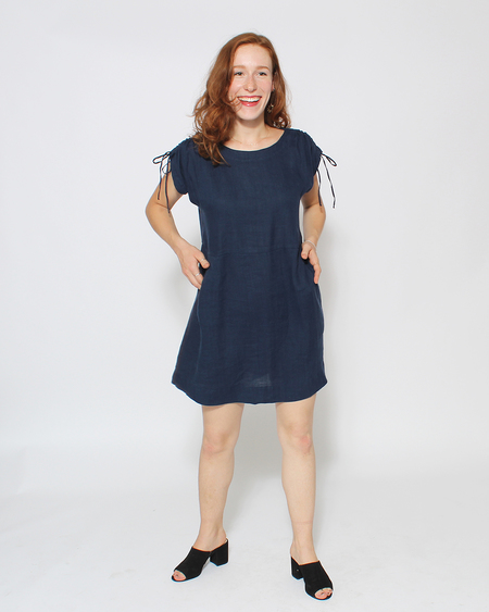 Sugar Candy Mountain Adele Dress in Navy