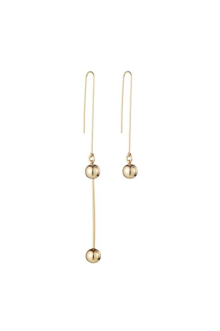 Jenny Bird Asymmetrical Ziggy Drops Earrings