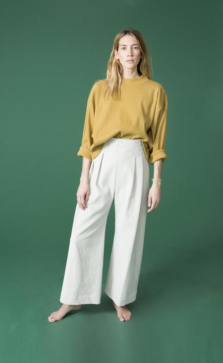 Ilana Kohn Phoebe Shirt in Brass