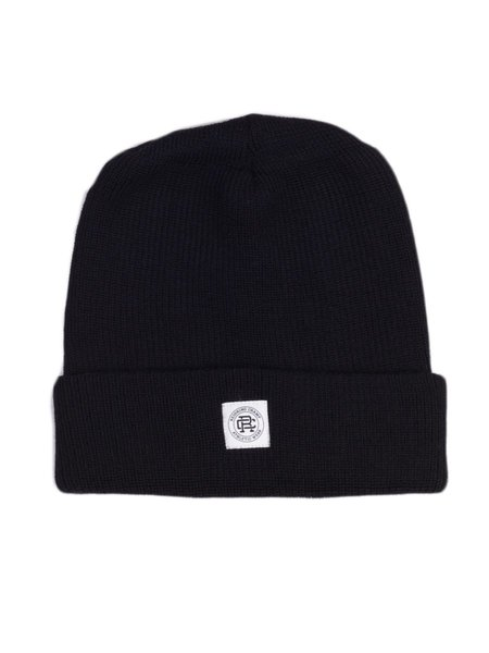 Reigning Champ Knit Merino Wool Toque- Black