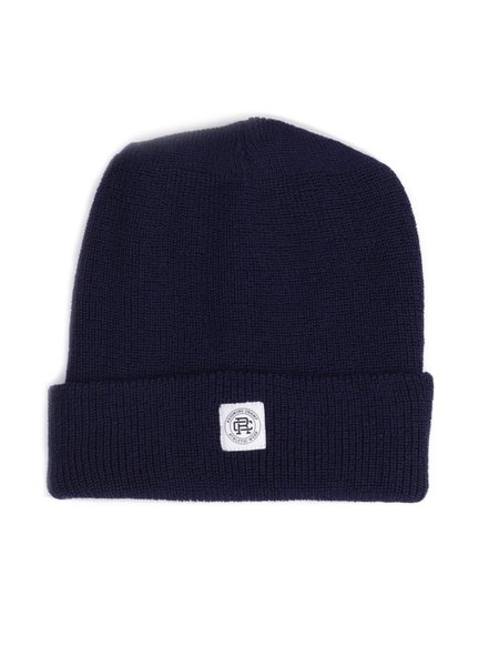 Reigning Champ Knit Merino Wool Toque- Navy