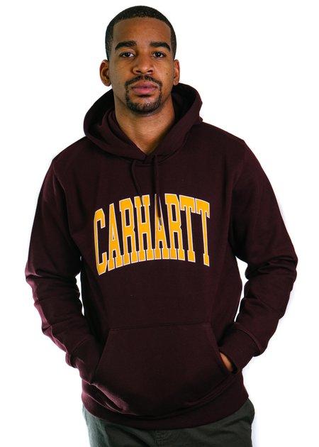 CARHARTT WIP Hooded Division Sweatshirt - Damson