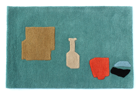 "Cold Picnic ""Objects from Home"" Rug"