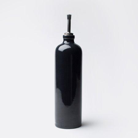 Manufacture De Digoin Midnight Oil Cruchon (Por-cru-bnu)