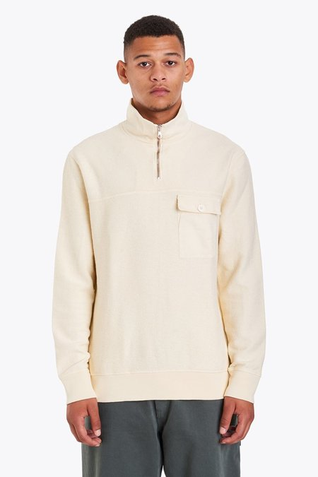 Tres Bien Panel Sweatshirt - Off White