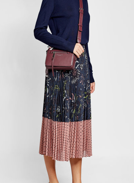 Markus Lupfer Pleated Hailey Skirt