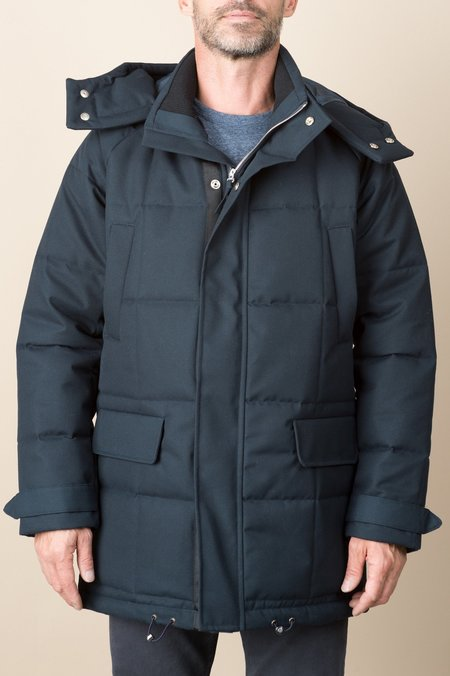 A Kind of Guise Sapporo Parka In Sturdy Navy