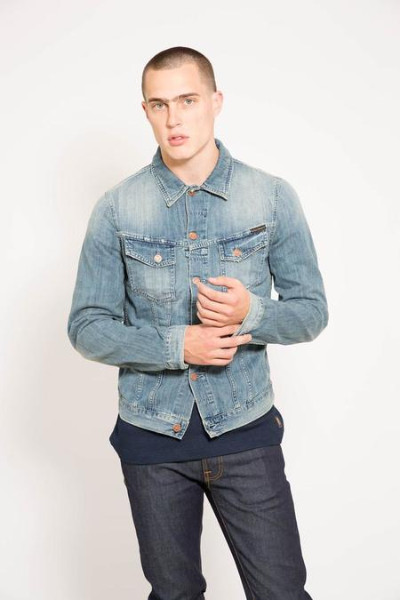 nudie Billy Light Shades Denim Jacket