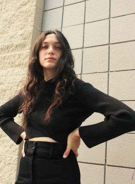 Desiree Klein Ava Longsleeve - black