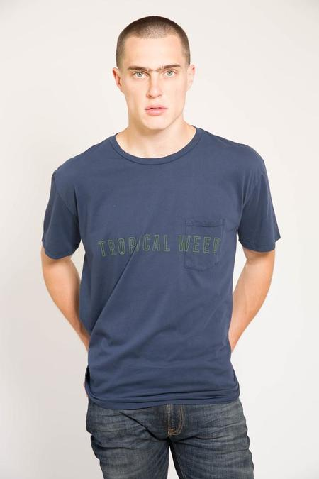 Quality Peoples Tropical Weed Pocket Tee