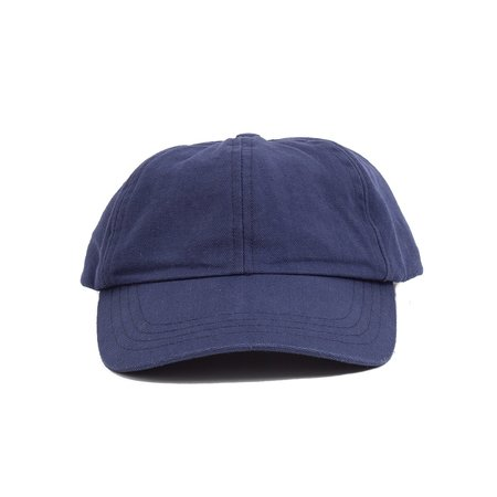 Corridor Wash Duck Canvas Cap - Navy