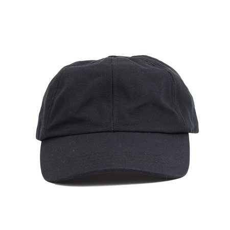 Corridor Washed Duck Canvas Cap - Black